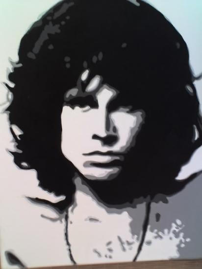 Jim Morrison by marinamusgrove